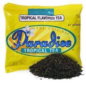 Paradise Original Tropical Flavored Iced Tea - 3 oz. Loose Leaf (3 Gallon Size) - 25 count box - Coffee Wholesale USA