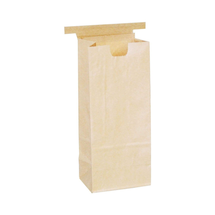 One Pound Coffee Bags with Tin Ties - TAN KRAFT