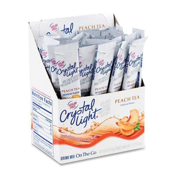 Crystal Light Drink Mix - Peach Tea - On The Go Sticks - 120 Count