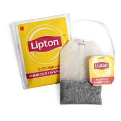 Lipton Tea Bags - 100% Natural, Regular - 100ct Box - Coffee Wholesale USA