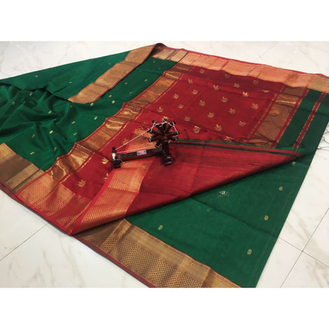 Leaf Buti Saree