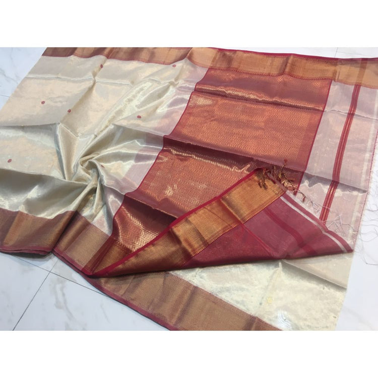TISSUE RICH PALLU SAREE