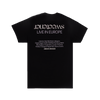LIVE IN EUROPE T-SHIRT