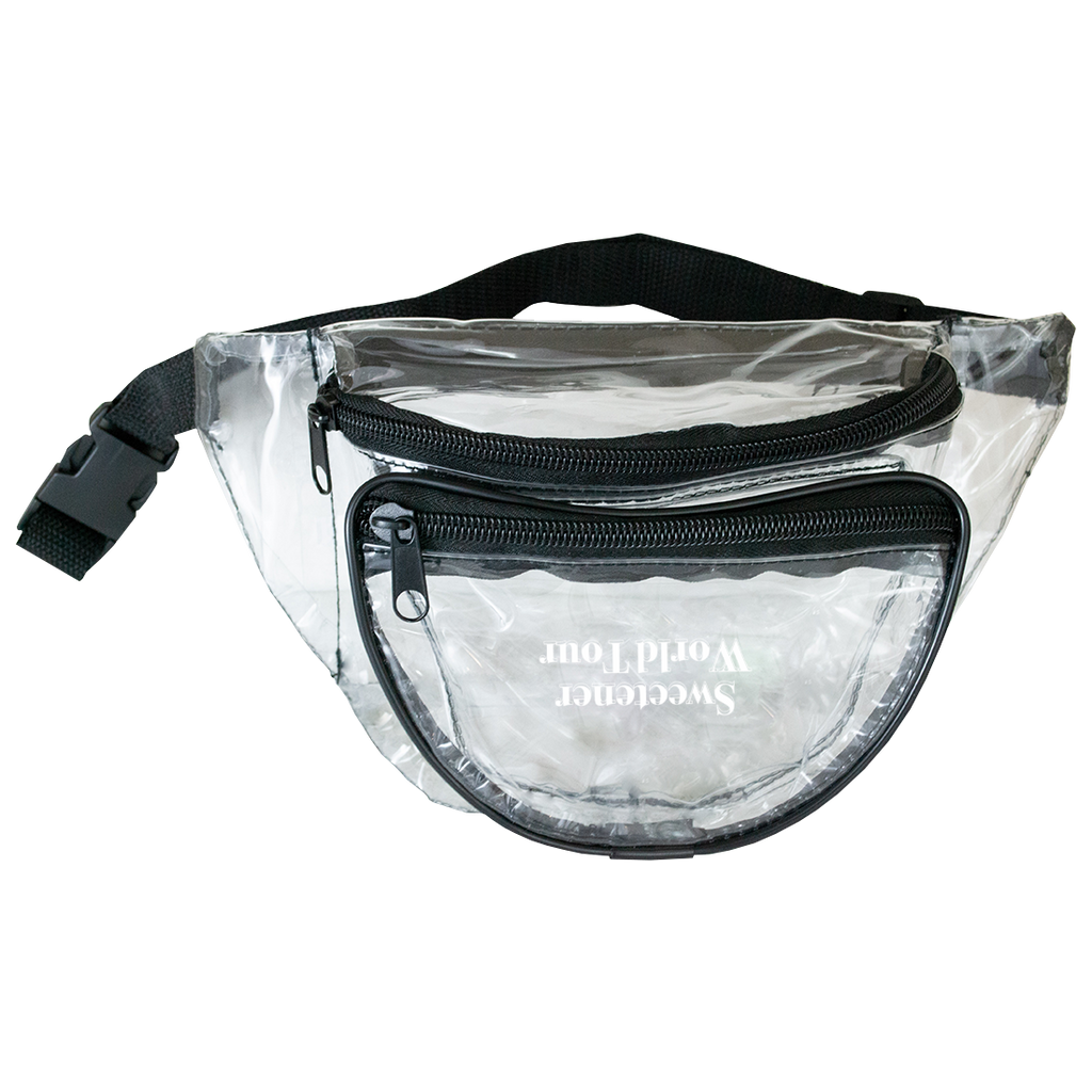 2aaa60b22bd Sweetener Tour Clear Fanny Pack
