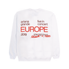 LIVE IN EUROPE CREWNECK I