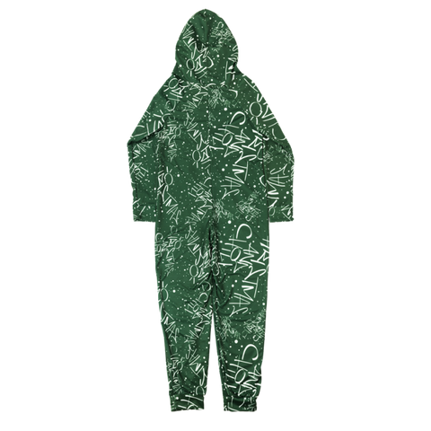 Christmas And Chill Green Onesie