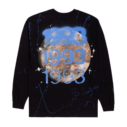 1993 SPLATTER LONG SLEEVE T-SHIRT
