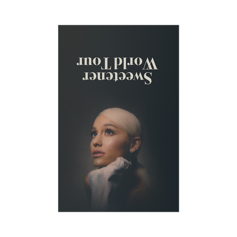 SWEETENER WORLD TOUR POSTER