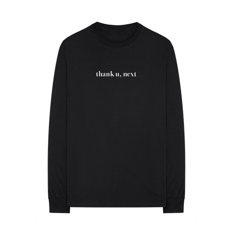 thank u, next long sleeve t-shirt + digital album