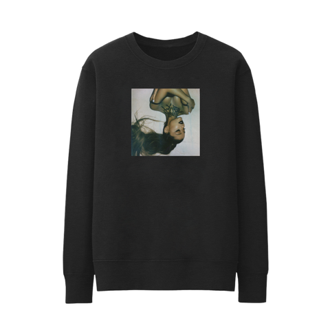 thank u, next cover crewneck + digital album