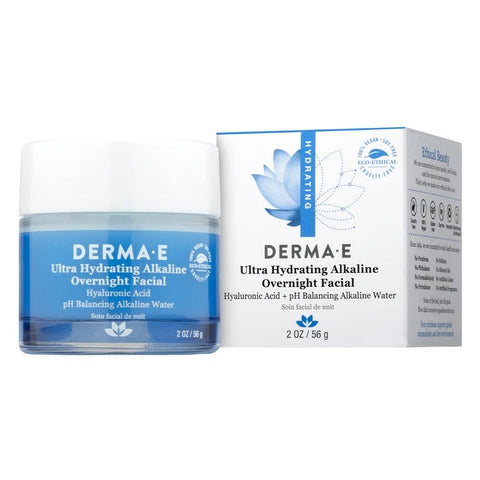 DERMA E - Ultra Hydrating Alkaline Overnight Facial