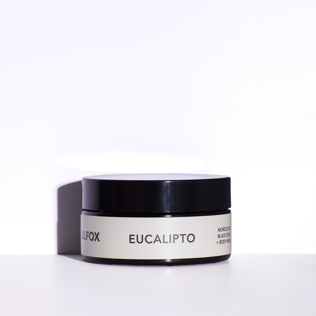LILFOX - EUCALIPTO Moroccan Black Soap + Body Mask