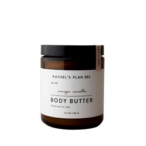 RACHEL'S PLAN BEE - Body Butter - Orange Vanilla
