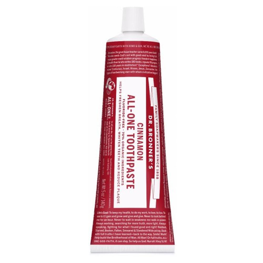 DR. BRONNER'S - All-One Cinnamon Toothpaste