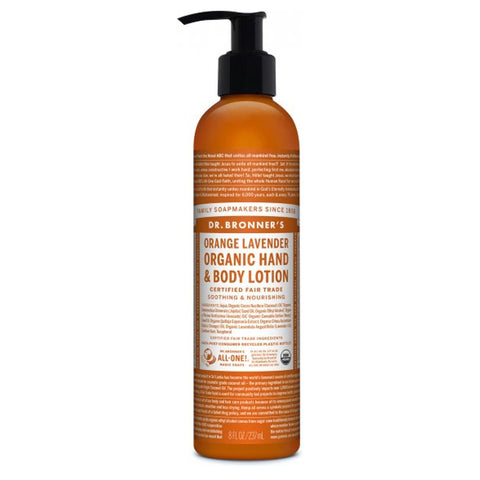 DR. BRONNER'S - Orange Lavender Organic Lotion