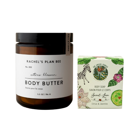 Rachel's Plan Bee - Citrus Blossom Body Butter + Arnaud Soap Sweet Love SPECIAL EDITION