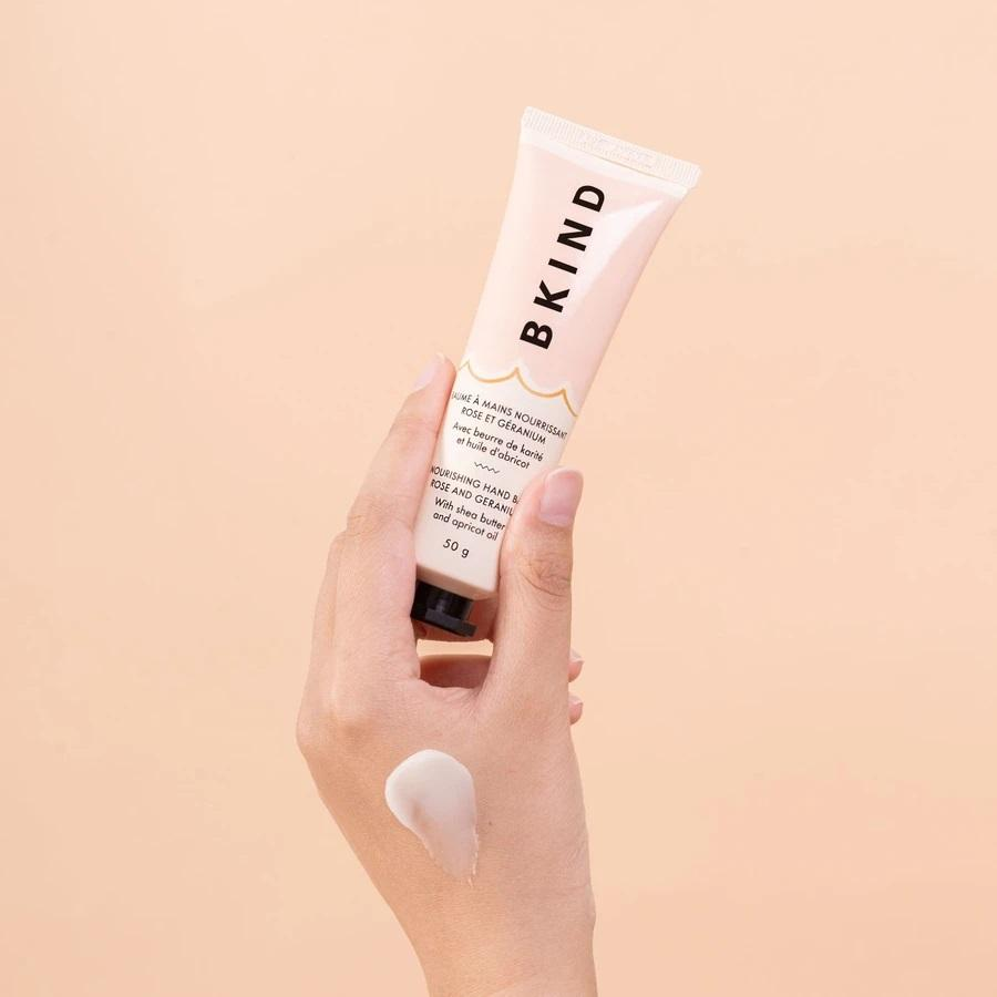 BKIND - Rose and Geranium Hand Balm