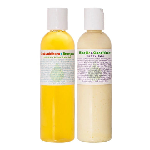 LIVING LIBATIONS - Seabuckthorn Shampoo & Shine On Conditioner Duo