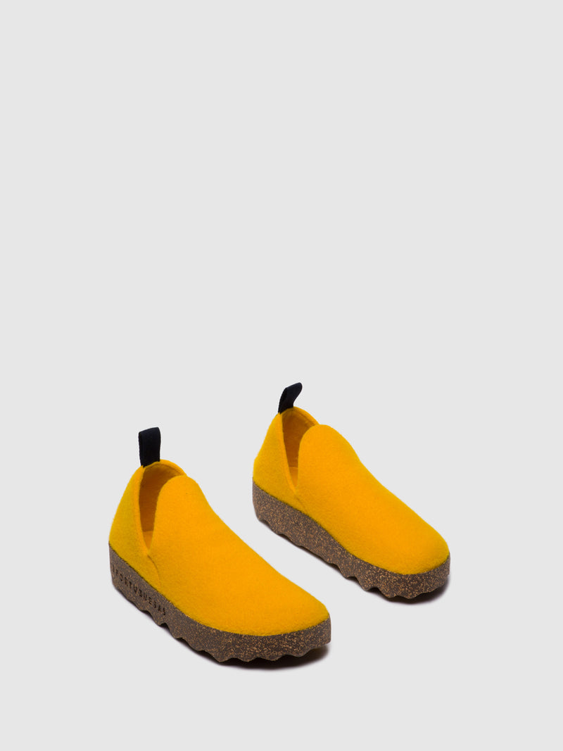 Slip-on Shoes CITY L Yellow