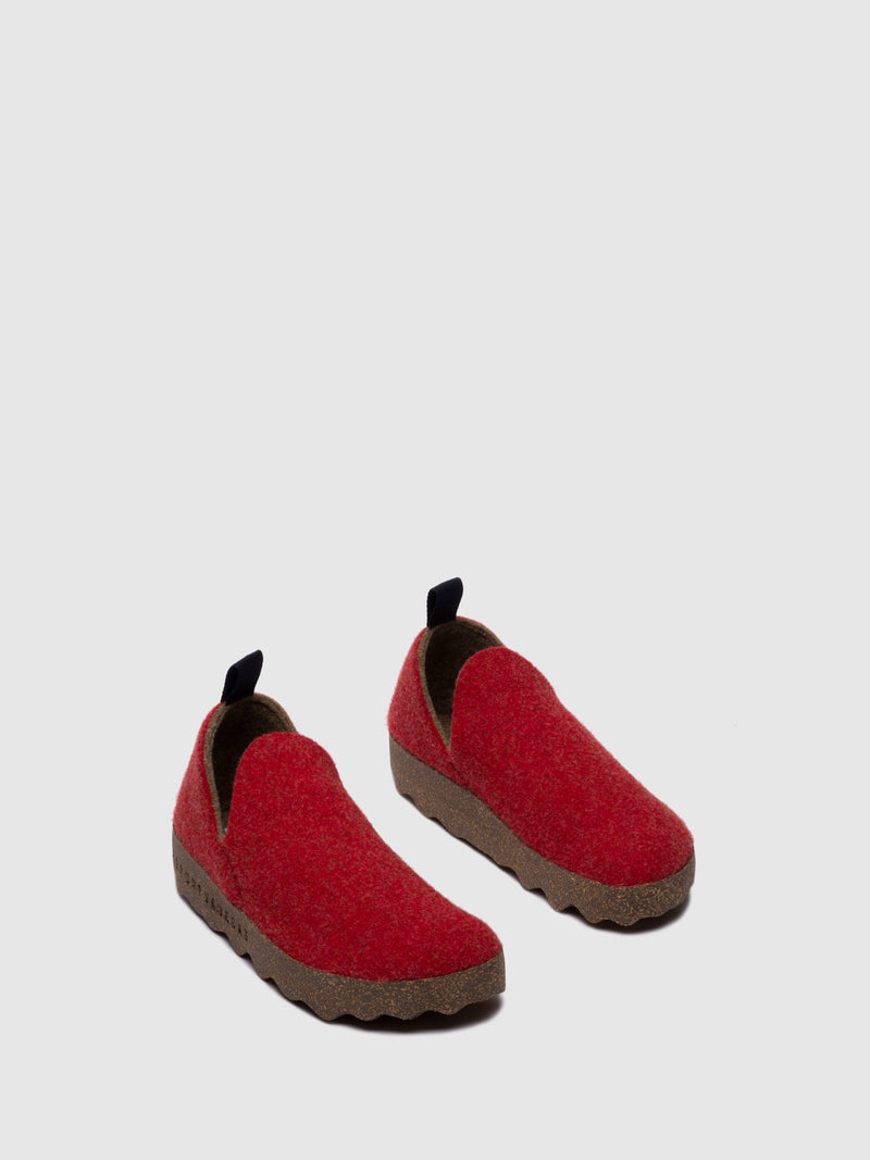 Slip-on Shoes CITY L Red