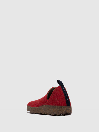ASPORTUGUESAS Slip-on Shoes CITY L Red