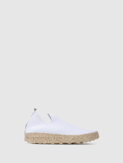 ASPORTUGUESAS White Elasticated Trainers