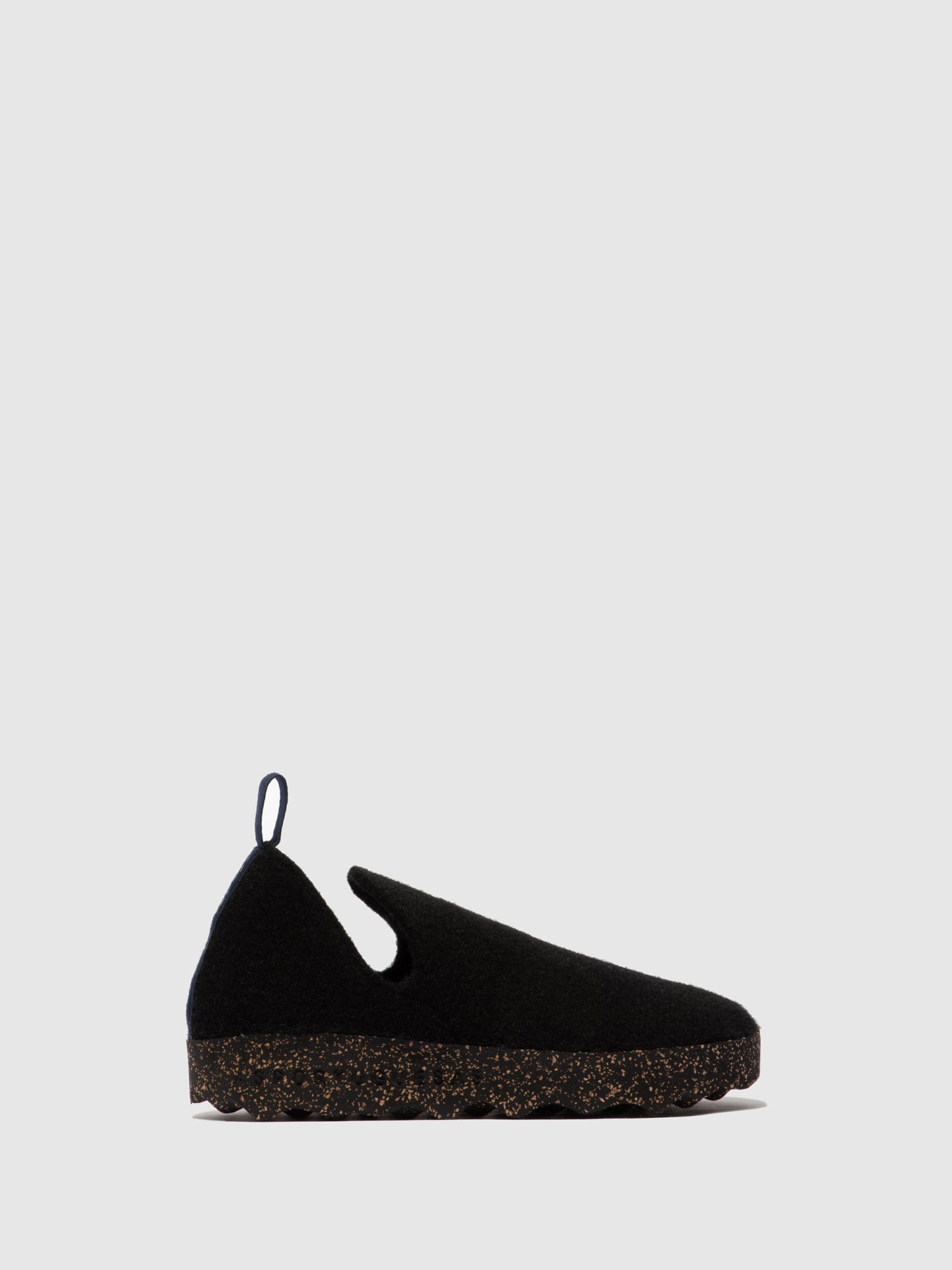 ASPORTUGUESAS Slip-on Shoes CITY M Black