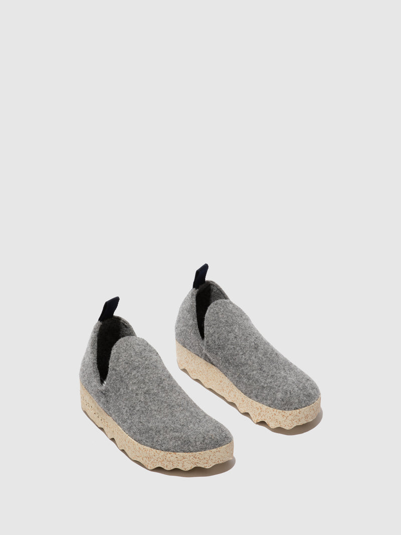 Slip-on Shoes CITY M Concrete