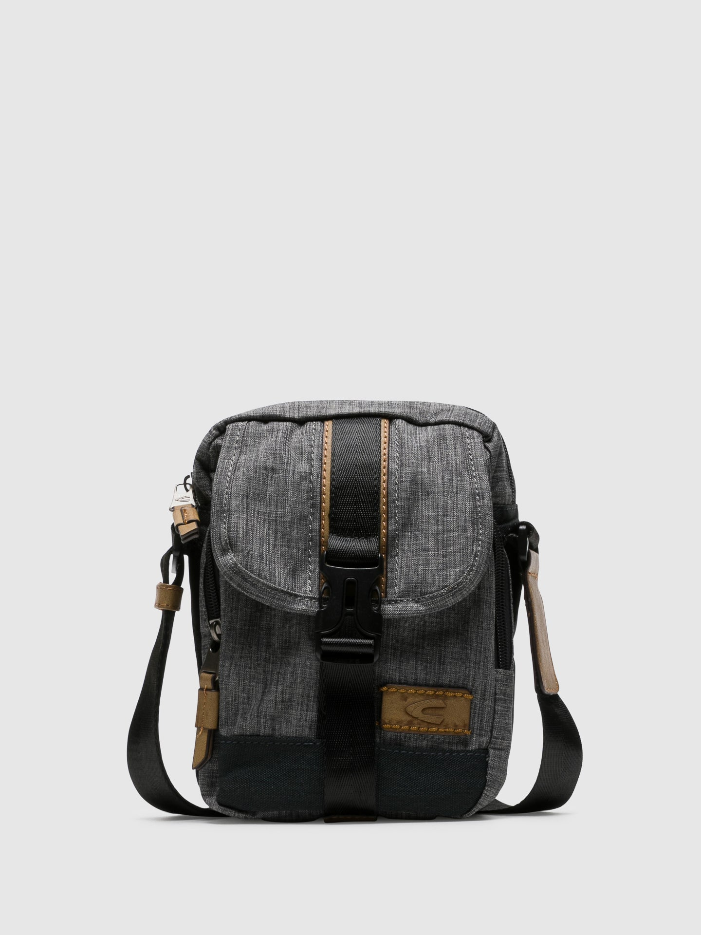 Camel Active Gray Crossbody Bag