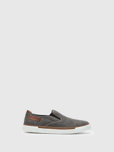 Camel Active Gray Slip-on Trainers
