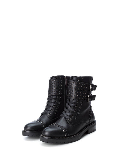 Carmela Black Zip Up Boots