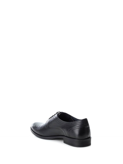 Carmela Black Lace-up Shoes