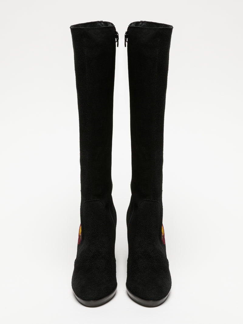 Clay's Black Knee-High Boots