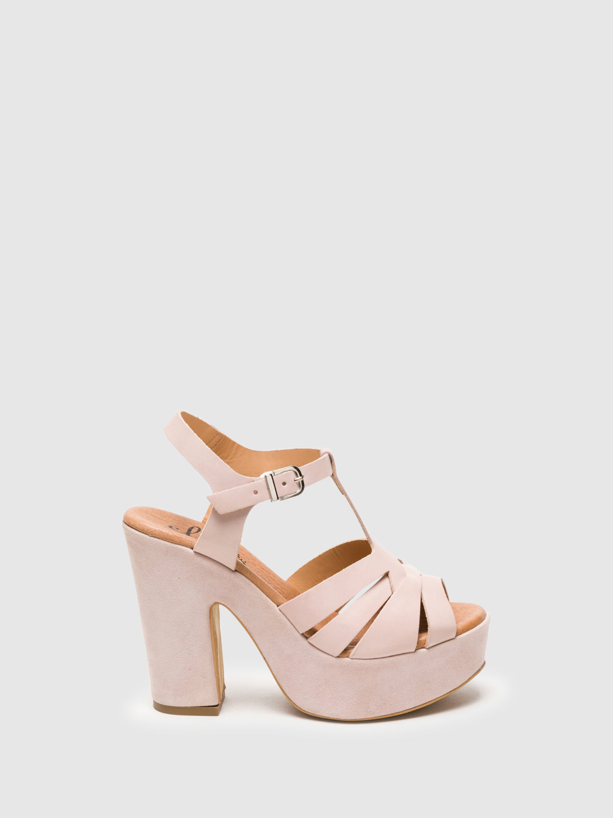 Clay's LightPink Buckle Sandals