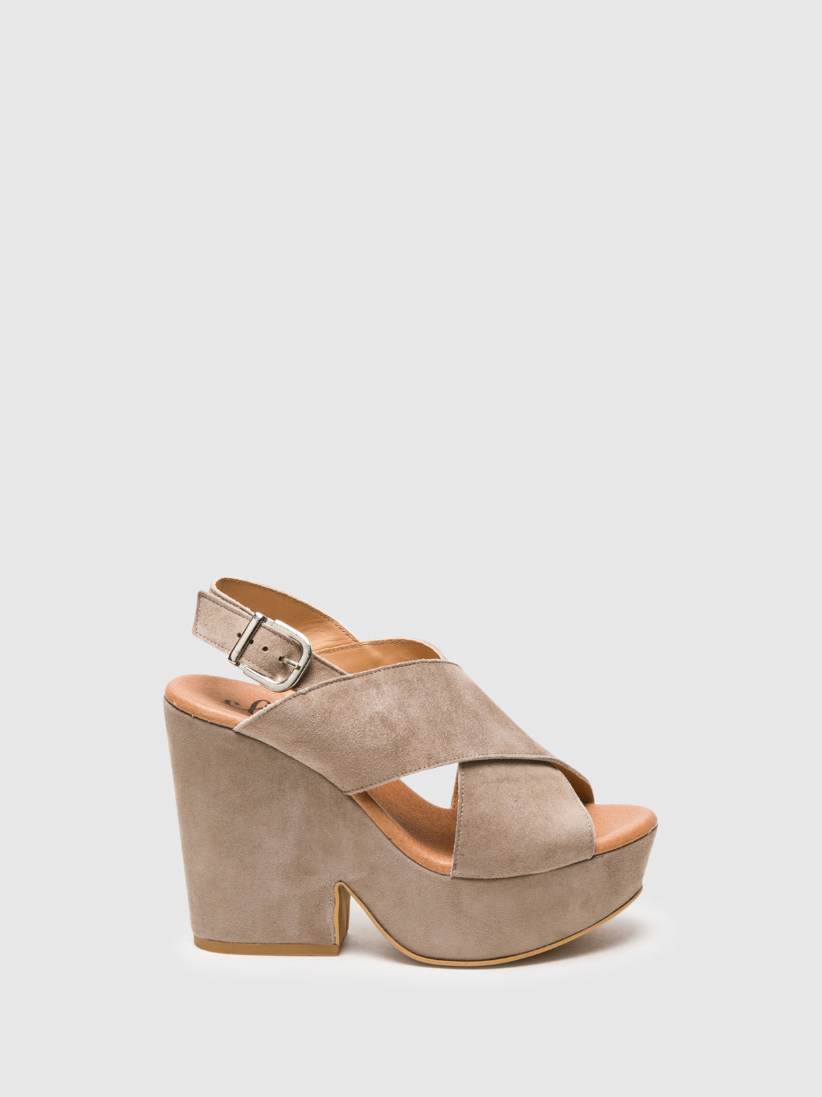 Clay's Gray Wedge Sandals