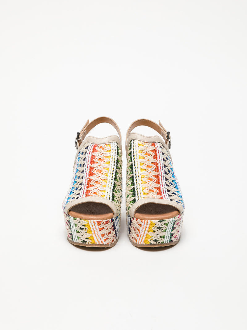 Clay's Multicolor Wedge Sandals