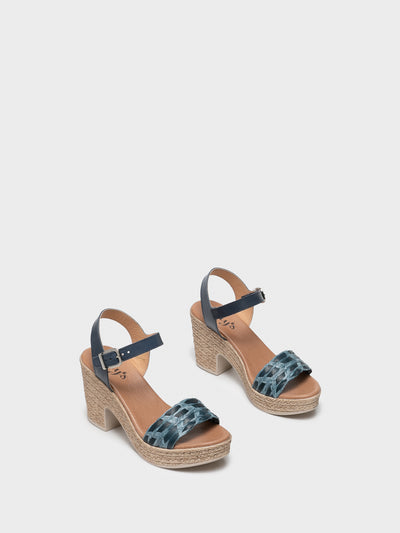 Clay's Blue Ankle Strap Sandals
