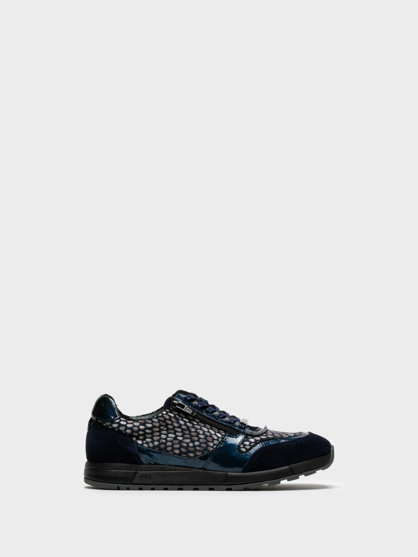 Camport Blue Lace-up Trainers