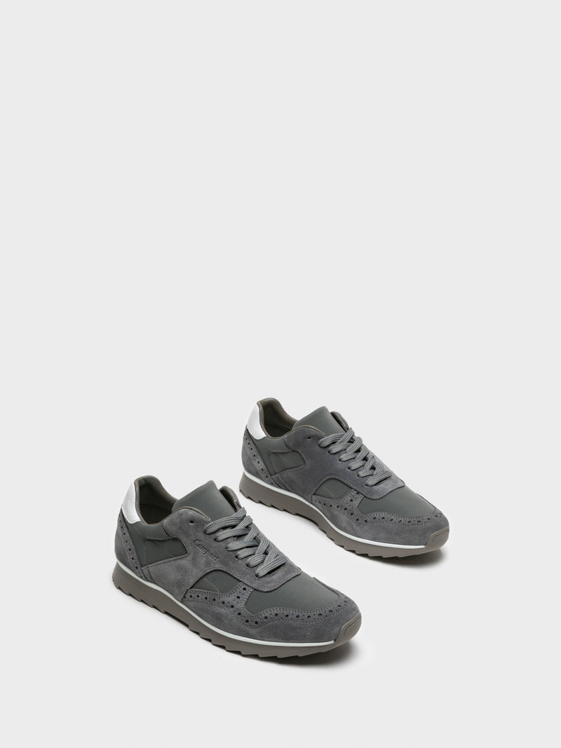 Camport Gray Lace-up Trainers