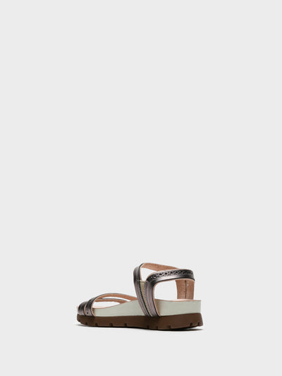 Camport Multicolor Sling-Back Sandals