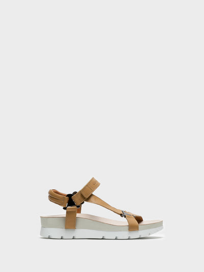 Camport Tan Velcro Sandals