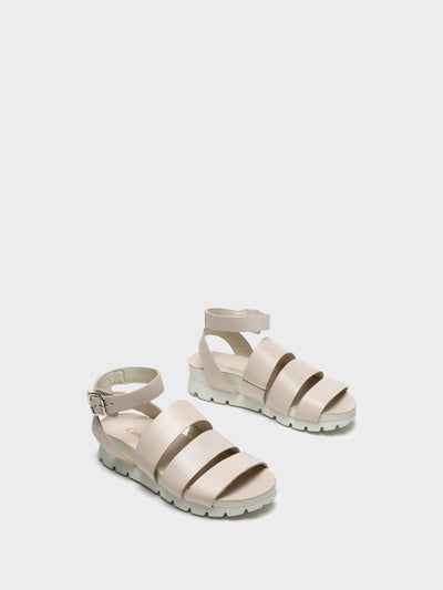Camport BlanchedAlmond	 Buckle Sandals