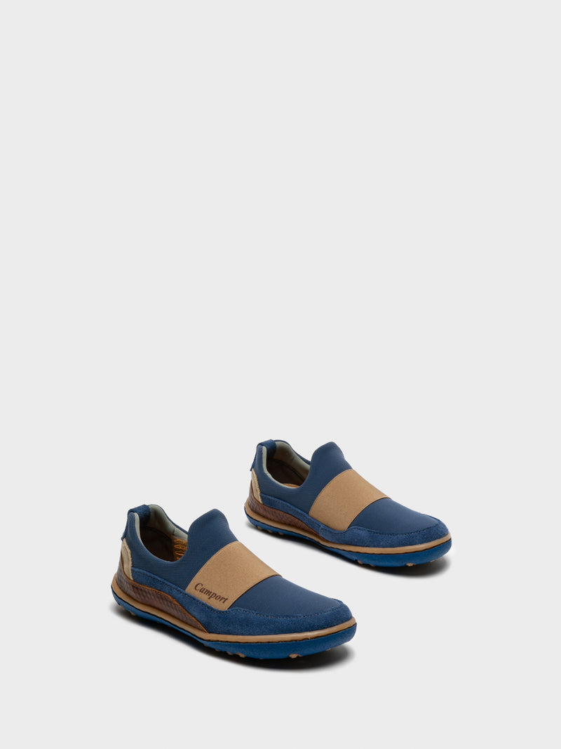 Camport Navy Slip-on Trainers