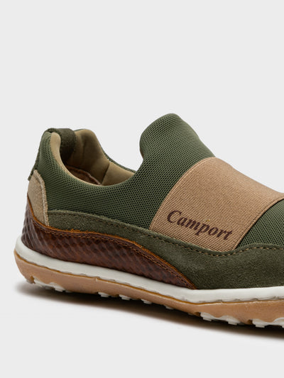 Camport Khaki Slip-on Trainers