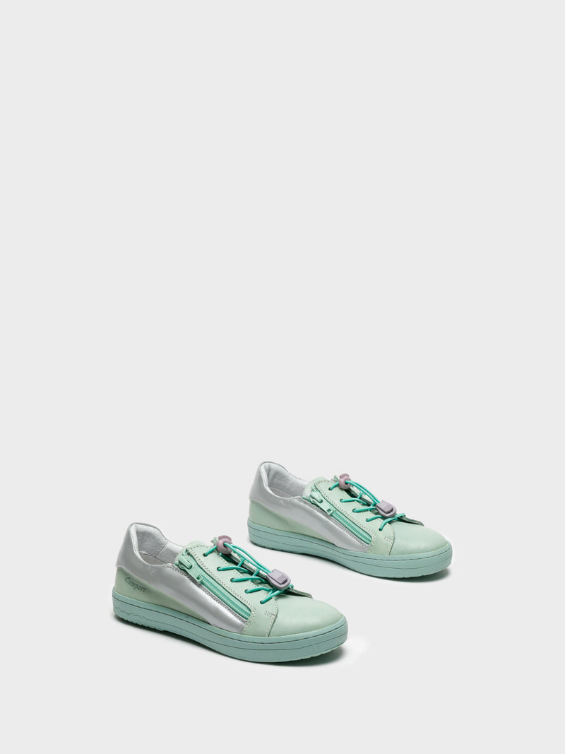 Aquamarine Low-Top Trainers