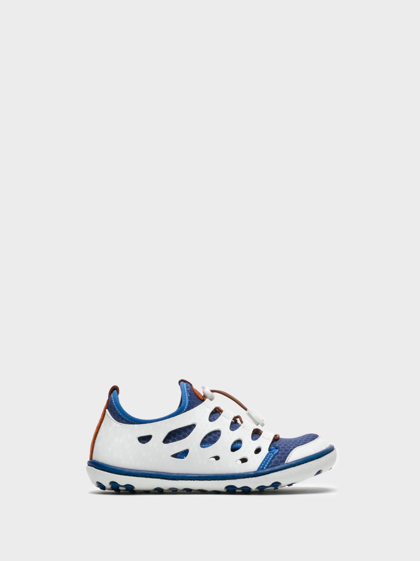 Camport Blue White Lace-up Trainers