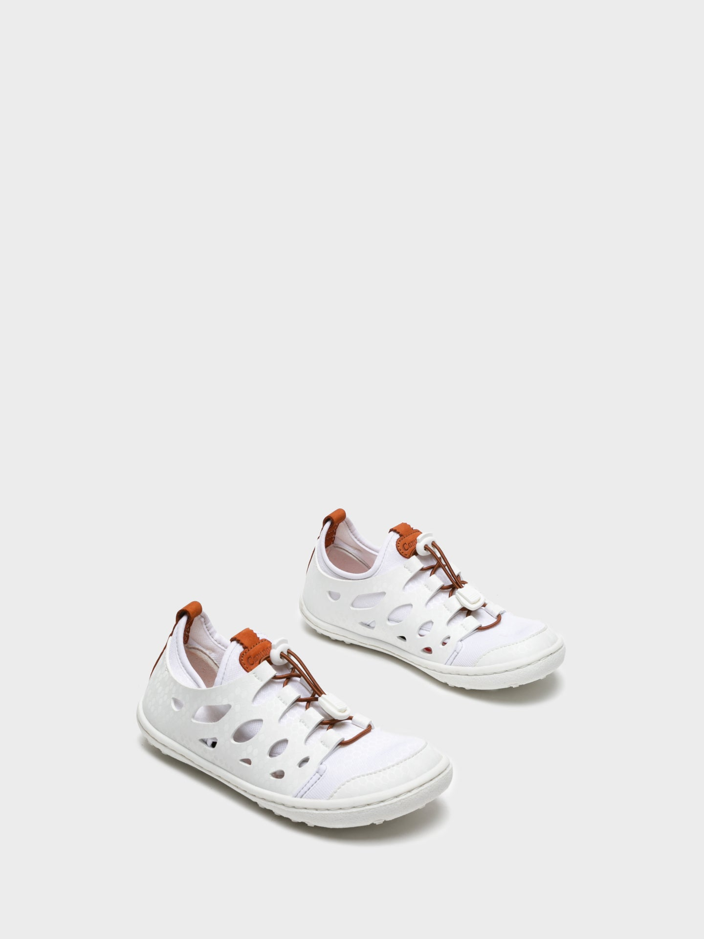 Camport White Lace-up Trainers