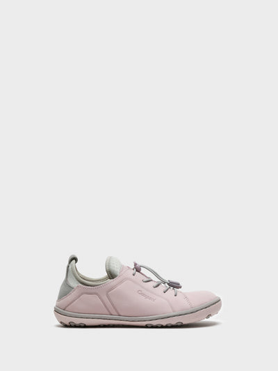 Camport Pink Lace-up Trainers