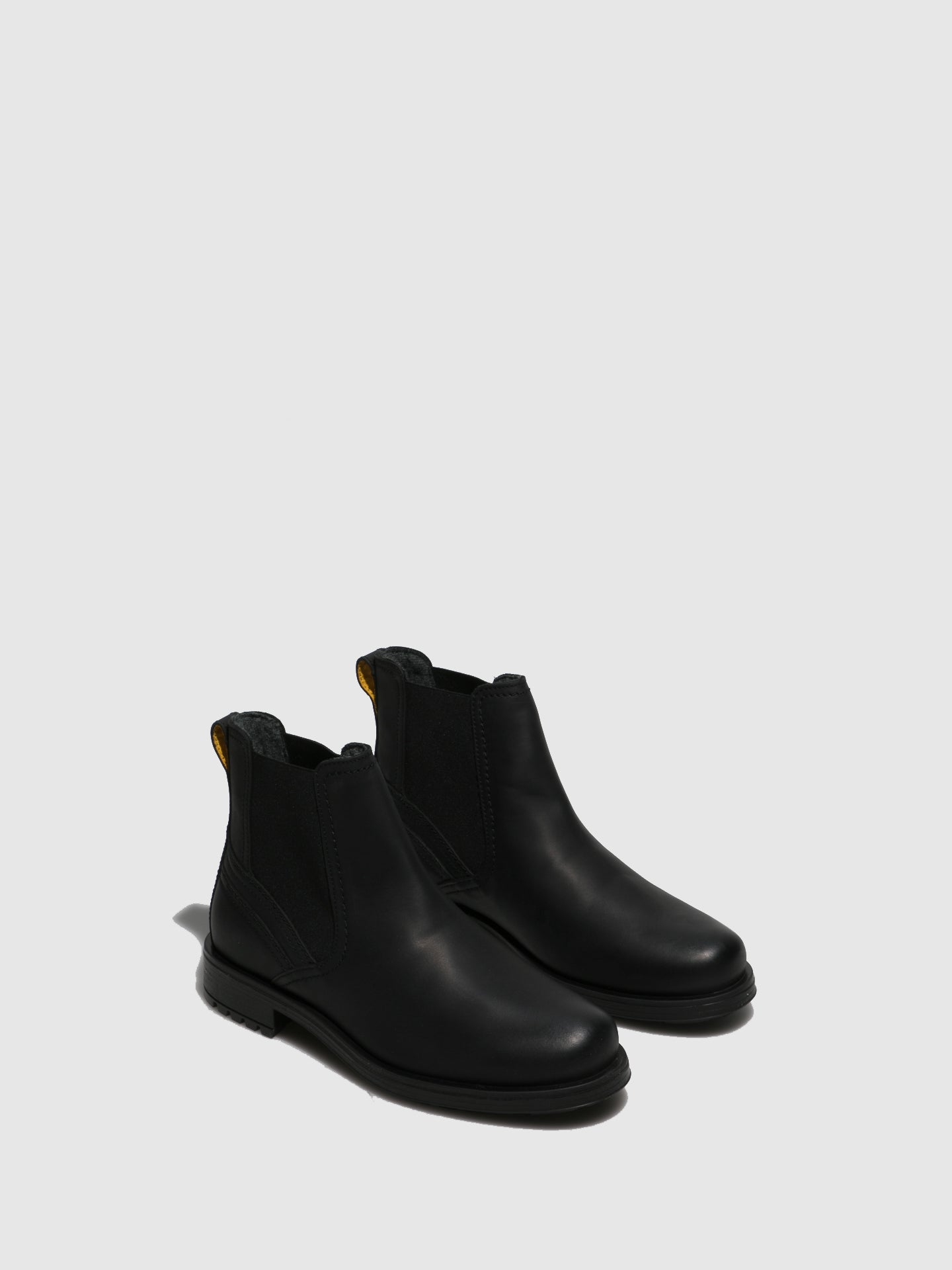 Camel Active Black Leather Chelsea Boots