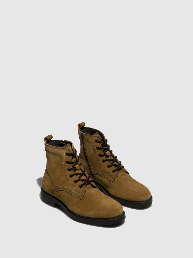 Camel Active Camel Suede Lace-up Boots
